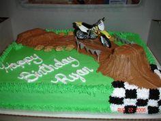 Motocross Cake Ideas | Dirt Bike — Children's Birthday Cakes