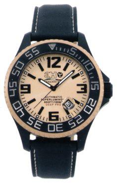 Relógios 3H italia, Detalhe do Modelo: 46t11nr-Bt-nero