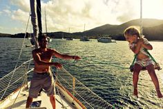 Who doesn't want a good sailing swing?!