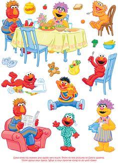 Welcome to Dover Publications Sesame Street Muppets, Sesame Street Characters, Sesame Street Party, Sesame Street Birthday, Elmo Plaza Sesamo, Preschool Cubbies, Nostalgic Pictures, Disney Clipart, Felt Stories