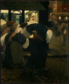 The Laundresses, 1899 by Theophile Steinlen. Art Nouveau (Modern). genre…
