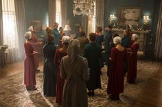 The Handmaid's Tale Recap Season 2 Episode 'Other Women' The Handmaid's Tale Book, Handmaid's Tale Tv, Elisabeth Moss, Margaret Atwood, The Handmaid's Tail, Movies Showing, Movies And Tv Shows, Bridesmaid Dresses, Wedding Dresses