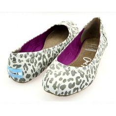 Grey Gisele Suede Ballet Flats, Toms Shoes
