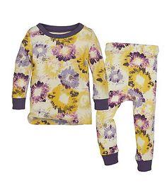 Burt's Bees Baby Organic Toddler Splatter Floral Pajama Set