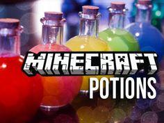 Minecraft IRL:  Minecraft Potions