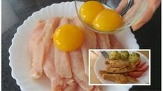 Ham, Chicken Recipes, Food And Drink, Low Carb, Eggs, Lunch, Treats, Breakfast, Red Peppers