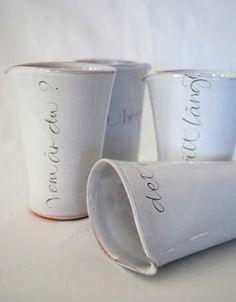 La petite fabrique de rêves: En Suède, chez la créatrice et calligraphe Ylva Skarp ...