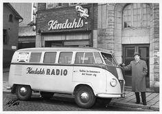 Volkswagen T1 barndoor for commercial use somewhere in Scandinavia