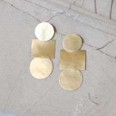 Image of Popova Disc Earrings
