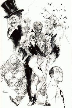 Gotham Villains by Robson Rocha