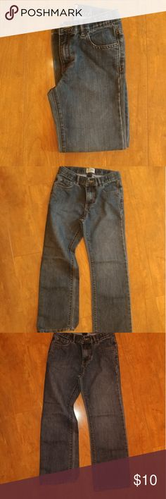Children's Place Jeans (Boys 8) EUC Boys Size 8 bootcut jeans with adjustable waist.  66% Cotton 34% Polyester Children's Place Bottoms Jeans