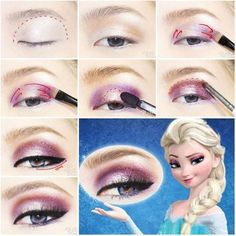 Frozen Elsa Eyeshadow