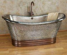 Beautiful Steal Tub