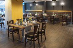 Unser neu gestaltetes Restaurant Albatros freut sich über Ihren Besuch! Restaurant, Table, Furniture, Home Decor, Decoration Home, Room Decor, Diner Restaurant, Tables, Home Furnishings