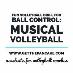 Basketball Discover Fun Volleyball Drill for Ball Control: Musical Volleyball Do you remember playing musical chairs as a kid? How everyone was nice and getting along walking around a circle of chairs until someone cut the music and. Volleyball Training, Volleyball Passing Drills, Volleyball Tryouts, Volleyball Skills, Volleyball Practice, Coaching Volleyball, Softball Players, Basketball Shooting, Volleyball Drills For Beginners