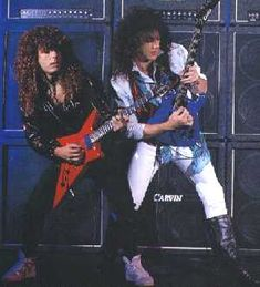 Jason Becker, Marty Friedman , and a wall of Carvin X-100B