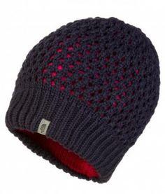 83a36a28e23 The North Face Womens Shinsky Beanie Hat - Fountain Blue Ski Clothes