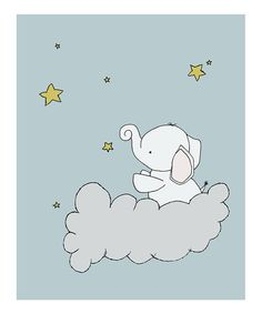 Look what I found on #zulily! Elephant Star Cloud #zulilyfinds
