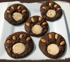 Bear Claw cookies