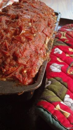 Annie's Spam Meatloaf from 'Misery' - fresh tomatoes, never canned...