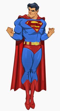 Superman Art by Paul Cohen Superman Family, Superman Man Of Steel, Superman Comic, Superman Wonder Woman, Batman Vs, Superman Stuff, Paul Cohen, Dc Comics, Dc Characters