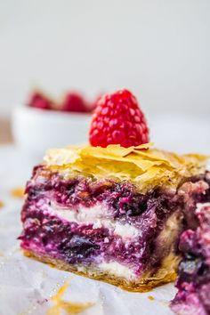 Berry Cheesecake Baklava