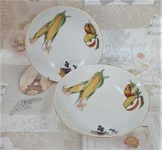 Royal Worcester Dessert Bowl Evesham Pattern Vintage Porcelain Oven To Table  Ware By BelieveToBeBeautiful On Etsy