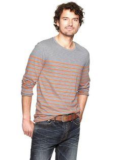 Gap | Engineer stripe knit T