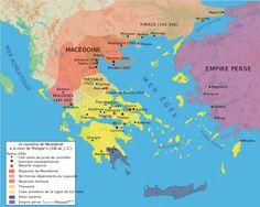Map Macedonia 336 BC