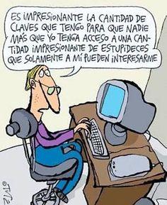 Actualidad Informática. Humor con las claves. Rafael Barzanallana