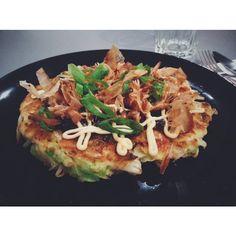 okonomiyaki! 🇯🇵💯☺️🙏