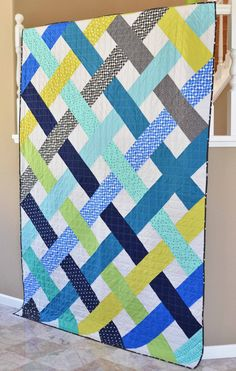 This listing is for the Betty Quilt PDF Pattern. It is quick to put together and a fun way to show of your favorite fabrics. This pattern is beginner friendly, but also fun for more experienced quilters.  It includes three sizes: Baby Quilt - 42 x 51 Lap Quilt - 60 x 68 Twin Quilt - 68 x 93  In addition to the pattern, the PDF download also includes coloring pages for each size to help you decide on fabric layout and color placement.  This pattern has been tested by multiple pattern testers.