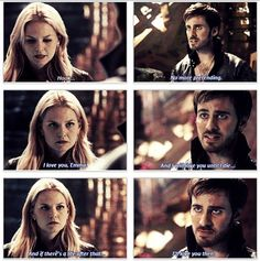 Hook & Emma unreality...oh the feels that would be felt if he actually said this to her (one can only hope) CaptainSwan all the way!!!