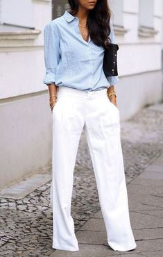 70 Trendy spring/summer work outfits inspired by the latest fashion shows | Women's office fas… | Su