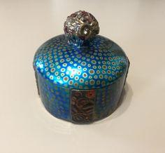 Available at Báv auction, May zsolnay artdeco bonbonier / candy dish Exotic Art, Blue Palette, Art Deco Home, Antique Boxes, Tile Art, Art Deco Fashion, Pottery Art, Simply Beautiful, Art Nouveau