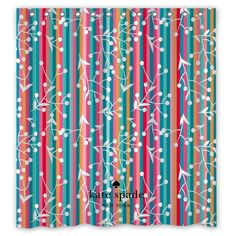Spade79 Floral Colorfull Surface Custom Shower Curtain Size 60x72 and 66x72   Unbranded   f87f5cdeff3a