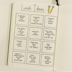 The Monday Meal Plan is a fresh, lovely Lunch Ideas page. There's something about the way the meals...