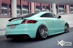 Mk2 Audi TT wrapped