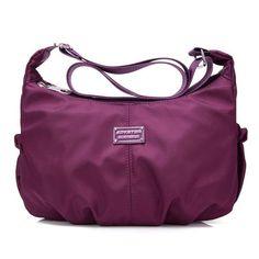 Women Casual Nylon Waterproof Lightweight Dumplings Shoulder Bags Crossbody Bags