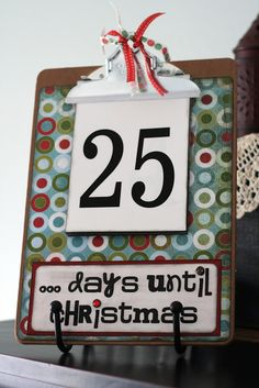 This week will be dedicated to Christmas Advents here at Eighteen25 We are excited to share some of the ways we like to countdown to Christmas in our homes. * * * * * * * * * * First off is the Christmas Countdown Clipboard… I made this countdown a couple years ago and …