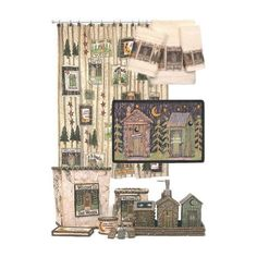 Rustic Lodge Outhouse Village Bathroom Accessories | Cabelau0027s Canada  Outhouse Shower Curtain