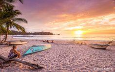 Beach at Nosara, Costa Rica
