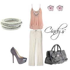 Polyvore outfit, created by cindycook10