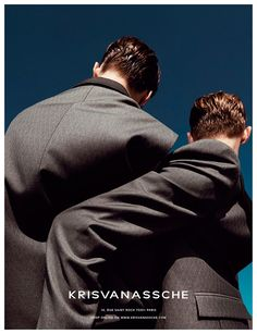 KRISVANASSCHE Spring/Summer 2014 campaign photographed by Alessio Bolzoni