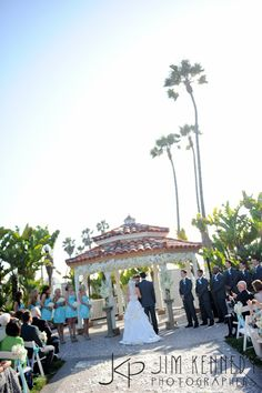 Wedding Ceremony At The Waterfront Beach Resort Hilton In Huntington