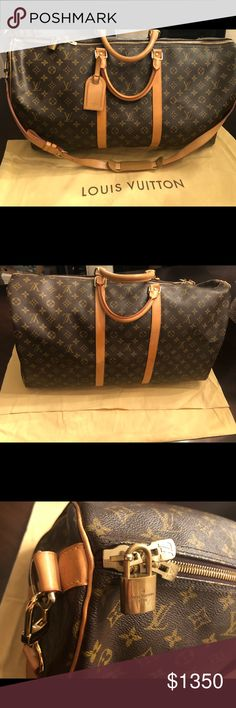 Louis Vuitton Keepall 55 Bag Louis Vuitton Keepall 55 Monogram Bag. This bag will come with the original dust bag. If you have any questions please let me know. At this time I'm not looking to trade, I would like to sell. Thank You Louis Vuitton Bags Travel Bags