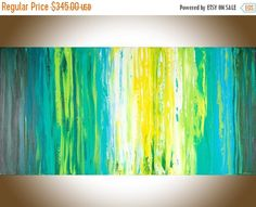 Abstract painting original artwork  painting on by QiQiGallery