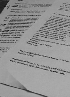 #Seznam ....potrebščin za šolsko leto 2014/15, 1+3 razred, vse pripravljeno:)
