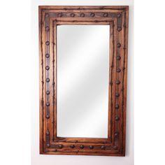 My Amigos Imports Rancho Adobe II Rustic Mirror