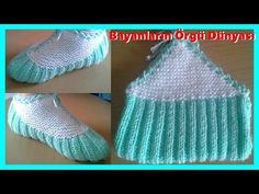 Knitting Patterns Slippers Slippers for All – Star Stitch Slippers Tutorial – Design Peak Knitting Videos, Easy Knitting, Knitting For Beginners, Knitting Socks, Knitting Patterns, Crochet Patterns, Crochet Slipper Pattern, Crochet Shoes, Crochet Clothes